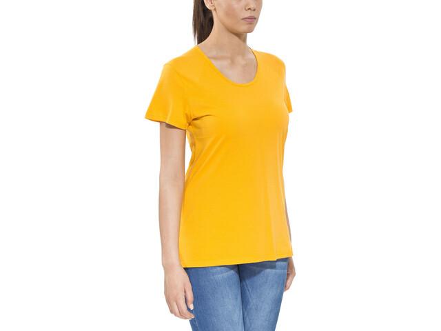 Haglöfs Apex T-shirt Dames, saffron